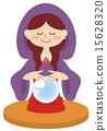 diviner, fortune teller, soothsayer 15628320