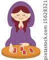 diviner, fortune teller, soothsayer 15628321