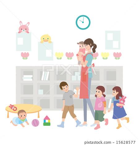 Nursery school nursery baby 15628577