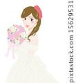 wedding, bride, dress 15629531