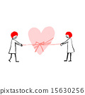 like, bonding, heart 15630256