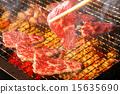 日本菜烤肉 韓國燒烤 食物 15635690