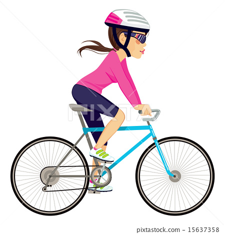 Cycling Professional Woman 15637358