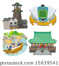 vector, vectors, sightseeing spot 15639541