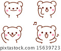 北極熊 插圖 矢量 15639723