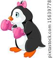 Penguin girl boxer 15639778