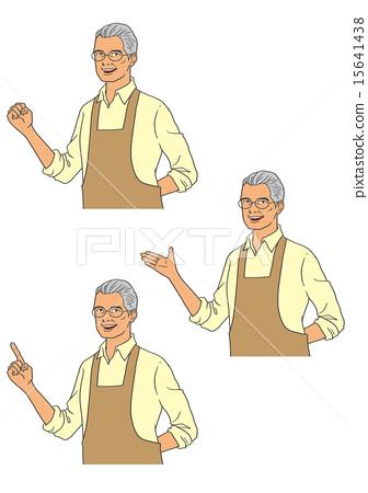 Male Apron Senior 15641438