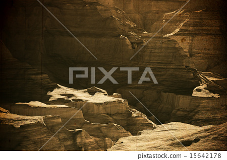 The Grand Canyon in Arizona USA 3D artwork vintage 15642178