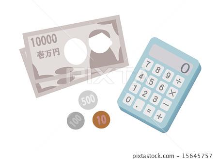 Calculator Money Exchange 15645757