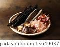 乾燥刮屑 乾香菇 食品 15649037