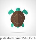 矢量 矢量图 乌龟 15651516