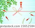 仪式折纸 年中礼物 翠绿 15652584