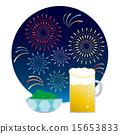 소재 1- 맥주와 완두콩과 불꽃 놀이 15653833