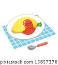 煎蛋飯 15657376