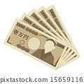 纸币 钞票 千元钞票 15659116