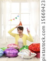 festive, females, home party 15669423