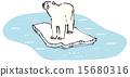 북극곰 표류 15680316
