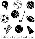 ไอคอน,กีฬาที่ใช้ลูกบอล,วอลเลย์บอล 15686662
