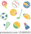 ไอคอน,กีฬาที่ใช้ลูกบอล,แบดมินตัน 15686663