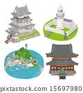 heiken-ji, odawara castle, vector 15697980