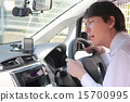商務駕駛執照工作服汽車(男輕汽車司機司機受薪商人) 15700995