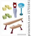 Artistic Gymnastic Equipments 15701641