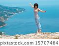 Dancing young woman 15707464