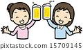 祝酒 乾杯 酒會 15709145