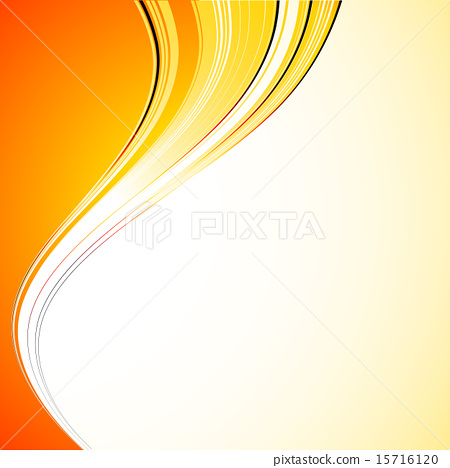 Abstract curved lines background. Template brochure design 15716120