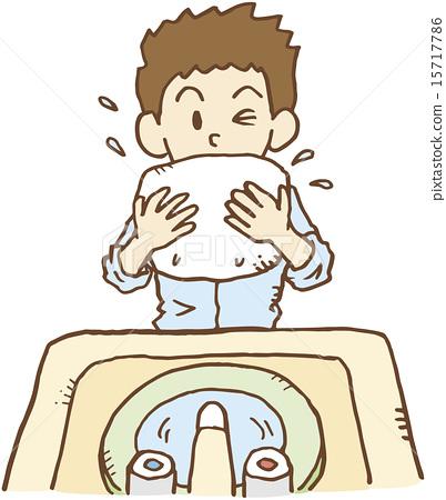 洗臉盆 下沉 潔面 15717786