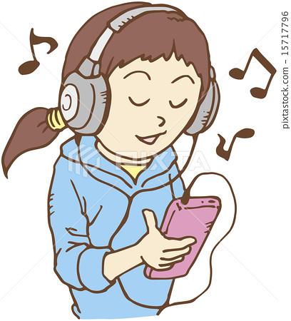 음악 듣다