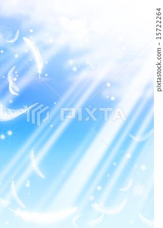 하늘, 흩날리다, 날개 15722264
