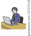 직업, 일, 남성 15723319
