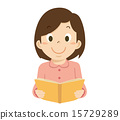 read, reading, girl 15729289