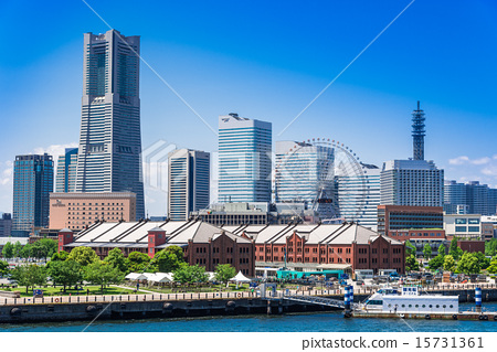 横滨 未來港 红砖仓库 15731361