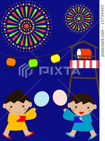 여름 축제 15734405