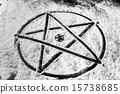 Pentagram closeup photo 15738685