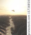 flying, desert, spaceship 15738850
