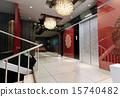 3d elevator lobby rendering 15740482