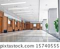 3d futuristic corridor 15740555