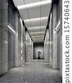 3d elevator lobby rendering 15740643