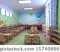 3d kindergarten restaurant 15740666