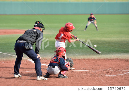 Boy baseball game 15740672