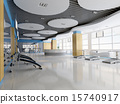 3d indoor gymnasium 15740917