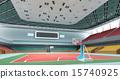 3d indoor gymnasium 15740925