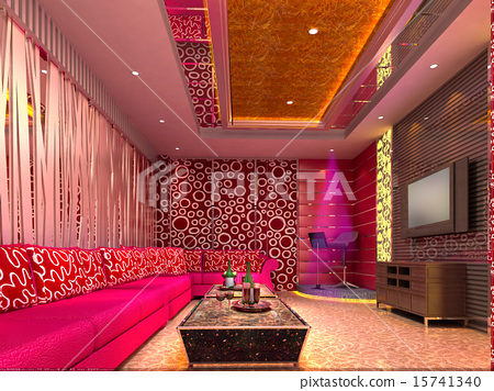 3D club room, hall 15741340