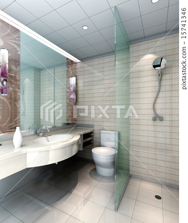 3d bathroom 15741346