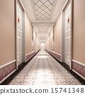 3d corridor. 15741348