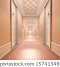 3d corridor. 15741349