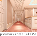 3d corridor. 15741351
